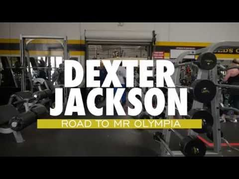 """Dexter Jackson: Dexter """"The Blade"""" Jackson: """"The Road To Mr Olympia 2016"""" Chest & Leg Workout"""