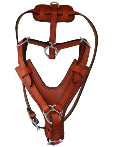 Tan Genuine Leather Dog Harness XLarge 30″-39″ Chest, 3/4″ Wide Straps Doberman, German Shepherd, Rottweiler, Cane Corso. Grab these Bargains upto 50% Discounted Prices... Time-Limited Discounts...  « DogSiteWorld-Store