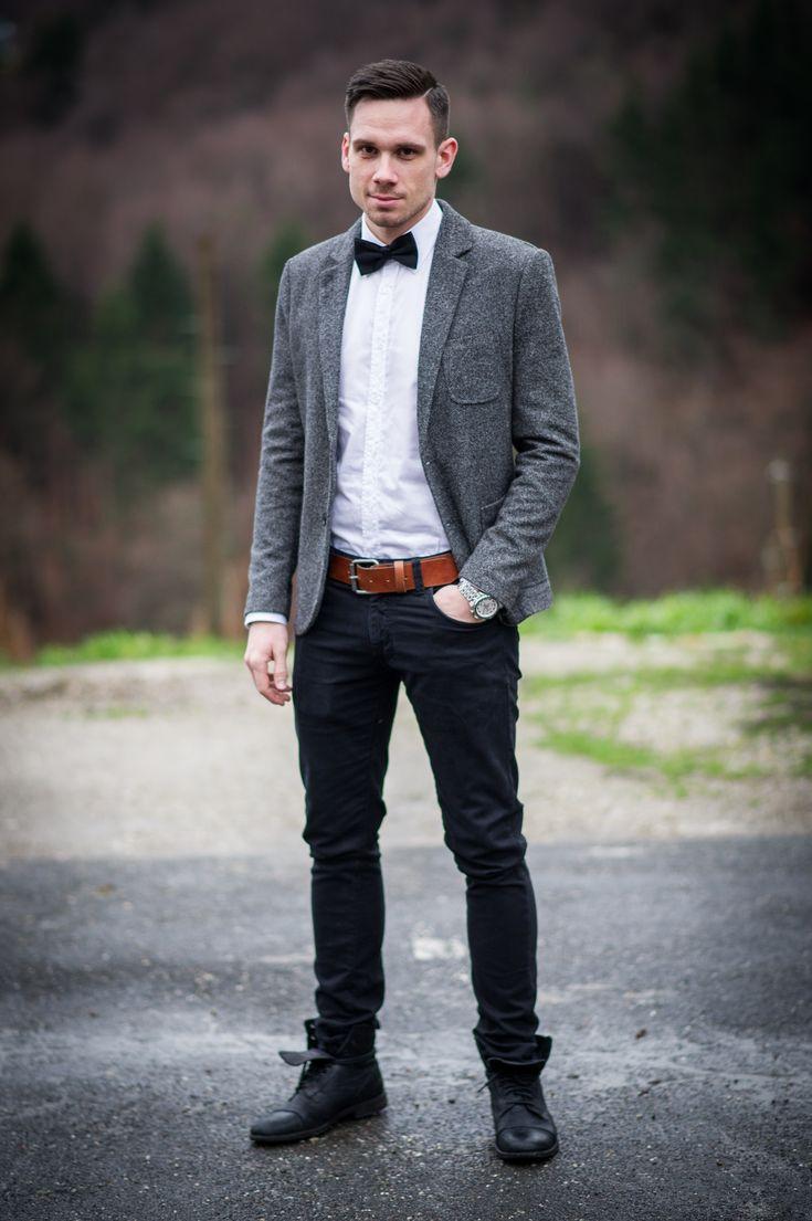 boe tie zara shirt selected homme belt h m blazer. Black Bedroom Furniture Sets. Home Design Ideas