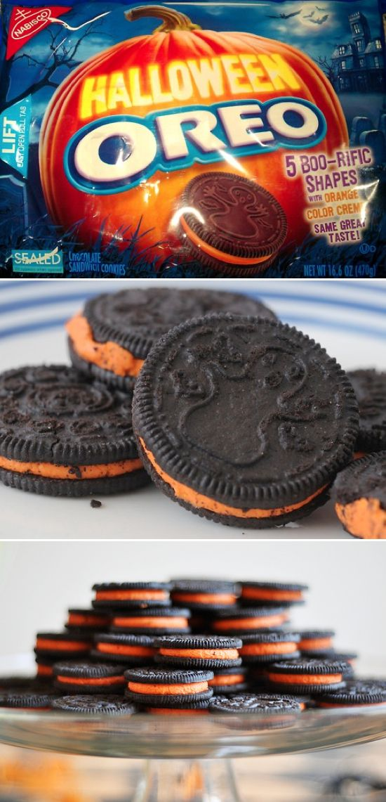 22 Awesomely Weird Oreo flavors...I LOVE the halloween oreos!:D