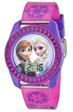 Get this cute Disney Frozen Watch for your Disney princess! Give it now or put it away for Christmas!