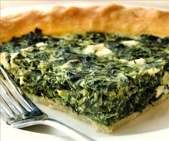 Quiche de espinacas vegano: se pondrán verde de envidia al vertelo comer - Comida que Sana
