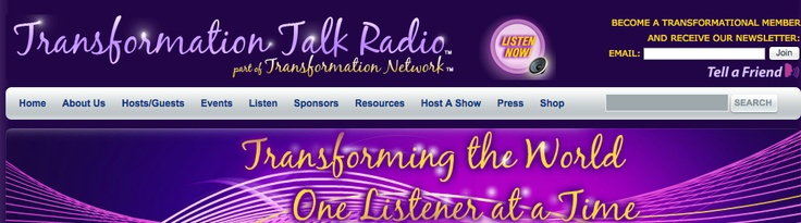 On Wednesday February 26th I had the pleasure to be interviewed in US by Saskia Roell on the Transformation Talk Radio