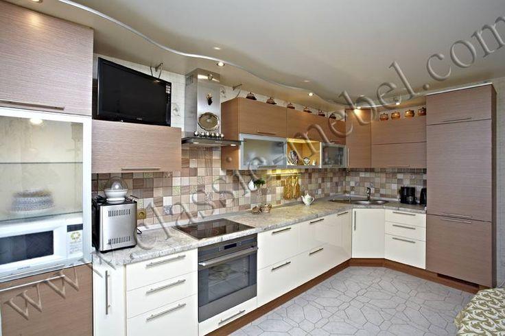Благородная кухня, модерн, заказ, Санкт-Петербург, фото