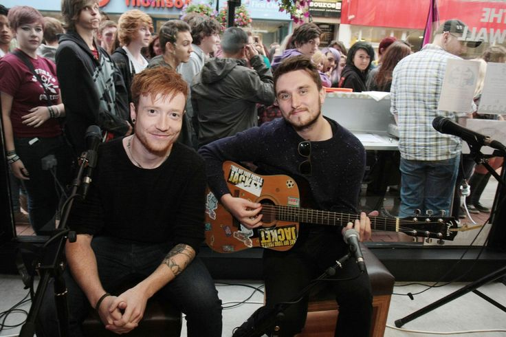 Mallory Knox play exclusive Reading Festival warm up set in Reading Vans shop