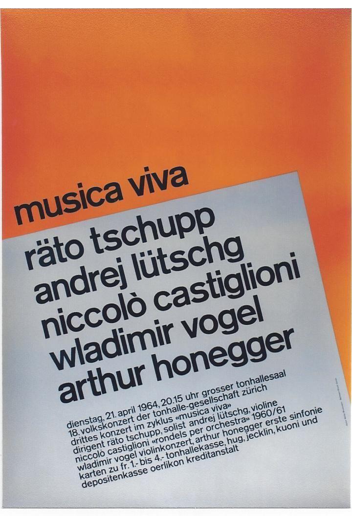 25 best Posters | SUI | Tonhalle Zürich images on Pinterest | Design ...