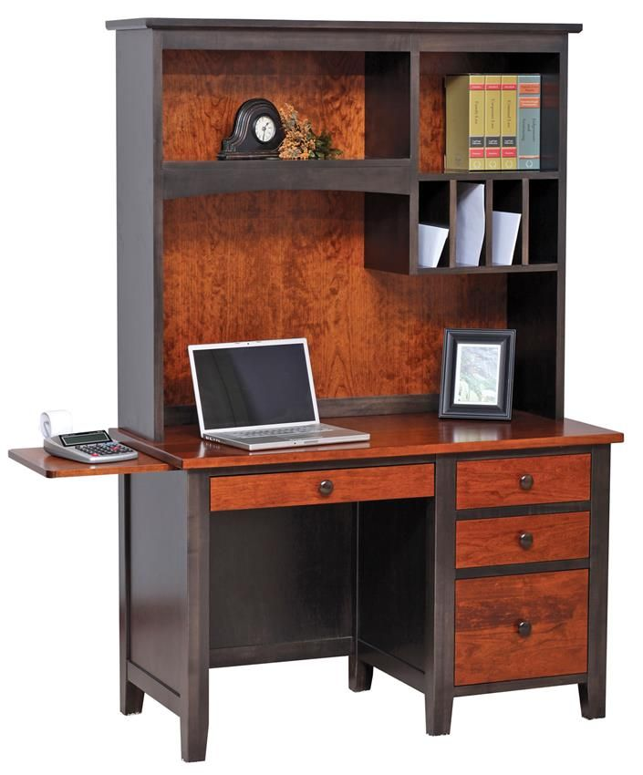 Amish Computer Secretary Desk Armoire Modesto Solid Wood: 78+ Images About Amish Home Office Furniture On Pinterest