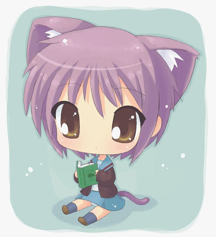 Anime Chibi Photos Chibi Girls Cats 17880station.jpg