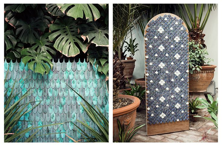 CRISTINA CELESTINO | Plumage // masaic tiles for Botteganove 2016