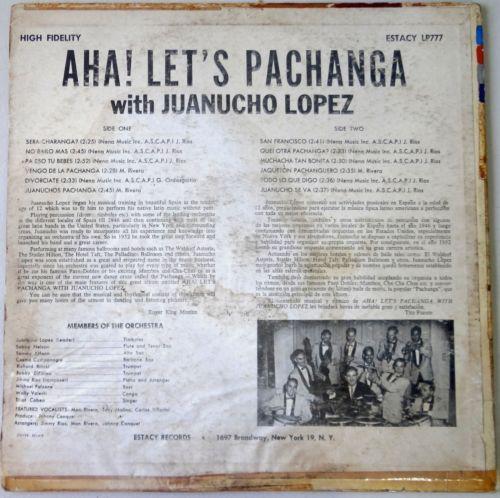 Juanucho Lopez Aha Lets Pachanga With Juanucho Lopez