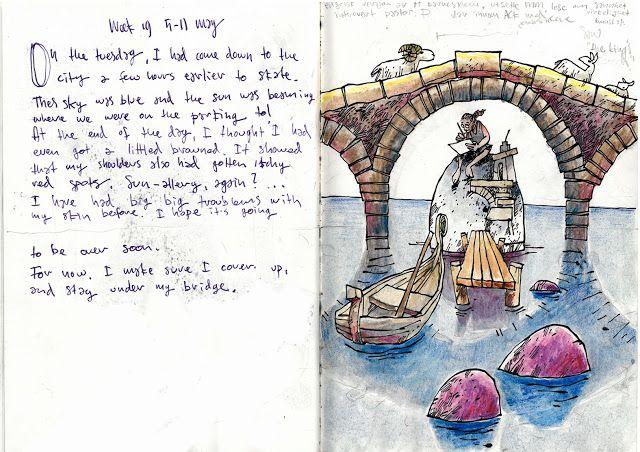 Drawing Diary: Week 19 2013 nr2
