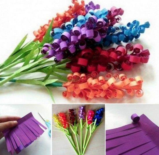 Paper Flower Ideas Make: 25+ Best Ideas About Construction Paper Flowers On