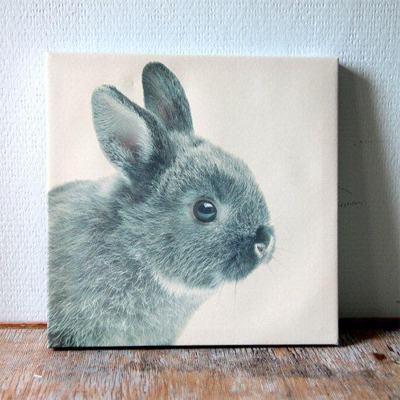 Spooky Rabbit Print by ProsteRzeczy on Etsy, zł60.00