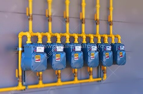 Executie instalatii gaz in Constanta