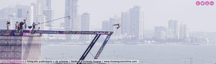Lanzamiento clavados Red Bull en Cartagena Fotógrafo: Tico Angulo Molina www.ticoangulomolina.com