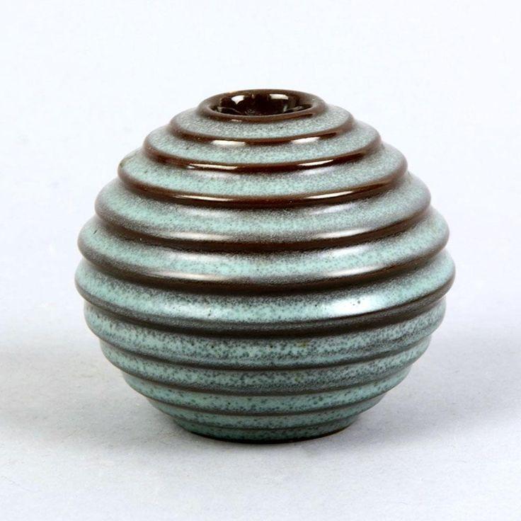 Vase by Ewald Dahlskog for Bo Fajans, Sweden
