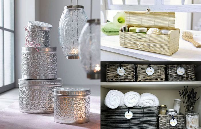Deko Und Badezimmer Ideen Kisten Und Korbe Dekoration