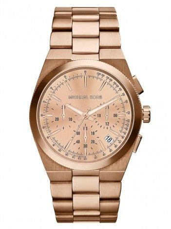 MICHAEL KORS Channing rose gold stainless steel chronograph ΜΚ5927 http://kloxx.gr/brands/michael-kors/michael-kors-channing-rose-gold-stainless-steel-chronograph-mk5927