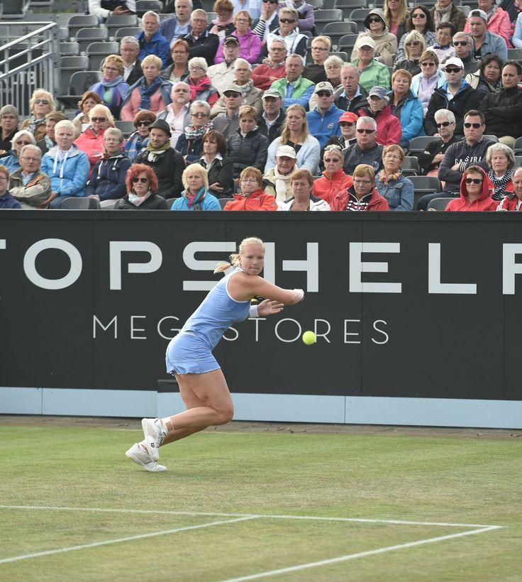 De Nederlandse Kiki Bertens presteerde dit jaar uitstekend met een halve finale plaats. Ze verloor de halve finale van de latere winnares Camila Giorgi. Naast Bertens was er nog een halve finale plaats voor een Nederlander, namelijk Robin Haase. Ook hij verloor van de latere winnaar Nicolas Mahut.