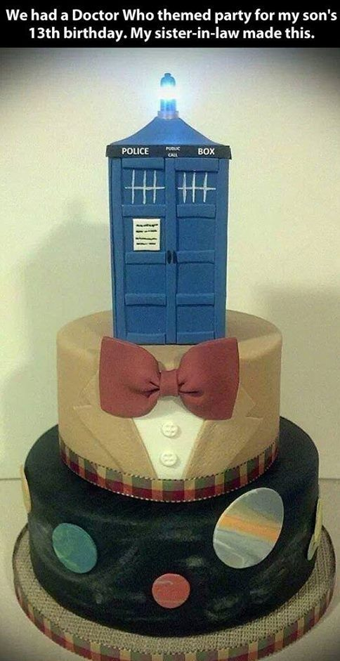 17 best Doctor Who Cakes images on Pinterest Doctor who cakes