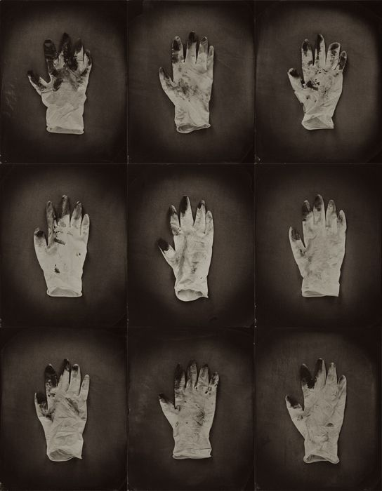 BEN CAUCHI - STAINED GLOVES -A LITANY NZ PHOTOGRAPHER