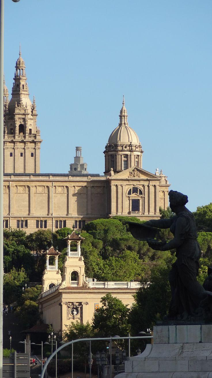 Museu Nacional d'Art de Catalunya (MNAC). Barcelona, Catalonia