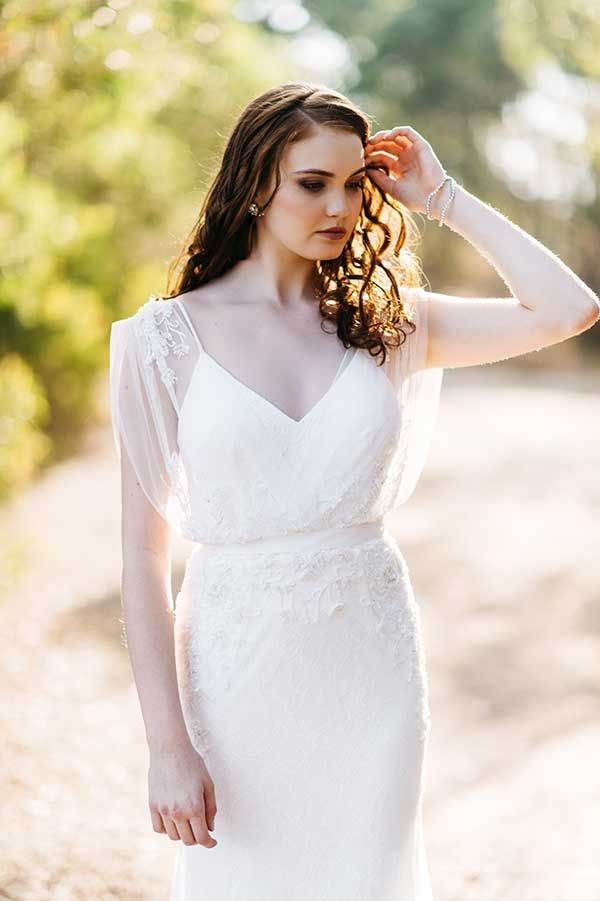 On the hunt for the a divine vintage wedding dress? Look no further than the new French collection from BellaDonna by Wendy Makin.