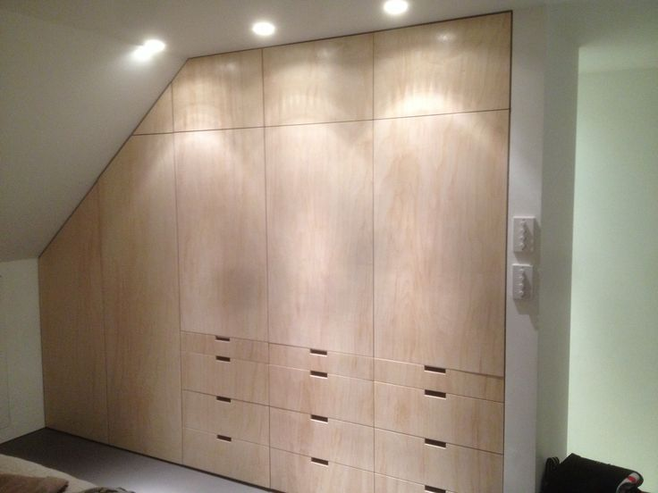 Birch ply wardrobe by fine balance carpentry