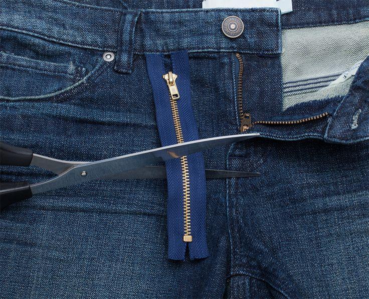 Näh-Tipp: Metall-Reißverschluss kürzen   buttinette Blog