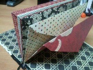 handmade envelope book
