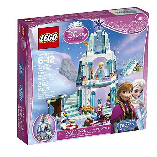 Elsa's Sparkling Ice Castle LEGO set - You know how they love Frozen.... Everything and Anything with Elsa is sure to be a hit!  Best Toys For 6 Year Old Girls - Christmas Wish List 2015