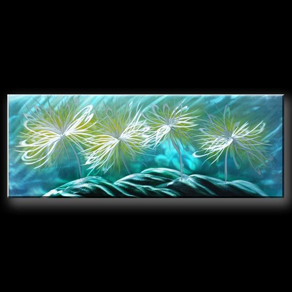 25 beste idee n over bloemen schilderij op pinterest for Schilderij op aluminium