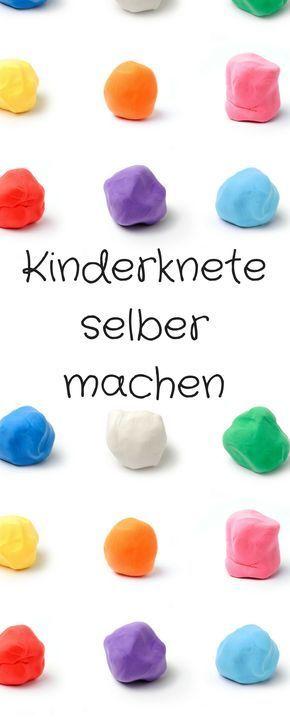 Kinderknete selber machen. Einfaches DIY für selbstgemachte Kinderknete. Dieses Rezept für Knete ist für Kinder und Erwachsene toll. Plastilin selber machen, Knete Rezept, Rezept für Kinderknete
