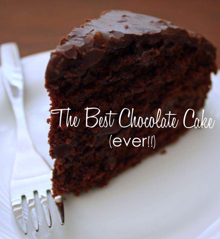 Make dry chocolate cake moist