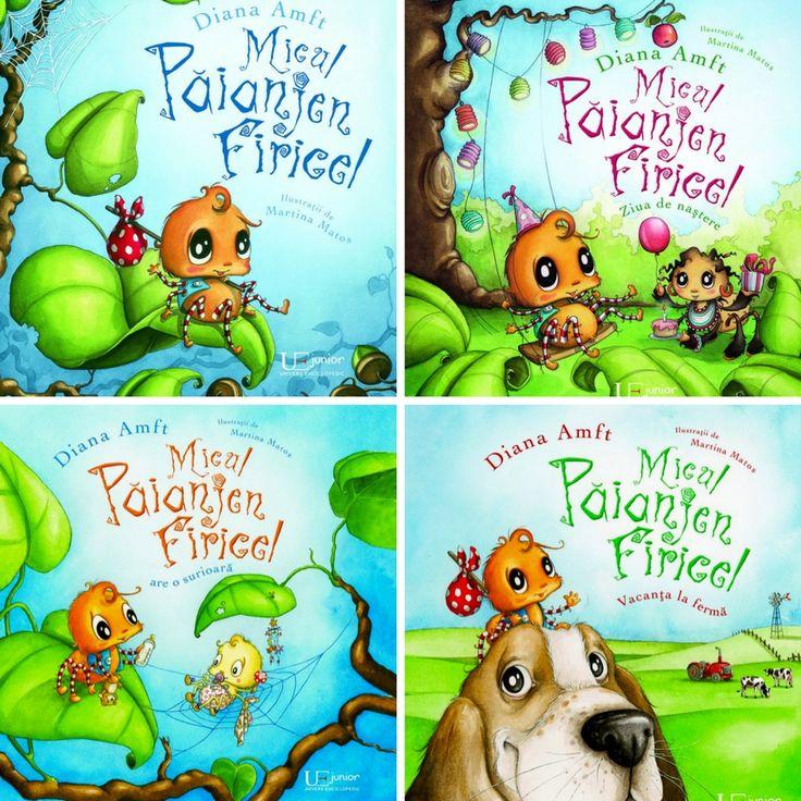 Micul Păianjen Firicel - recomandare cărţi pentru copii