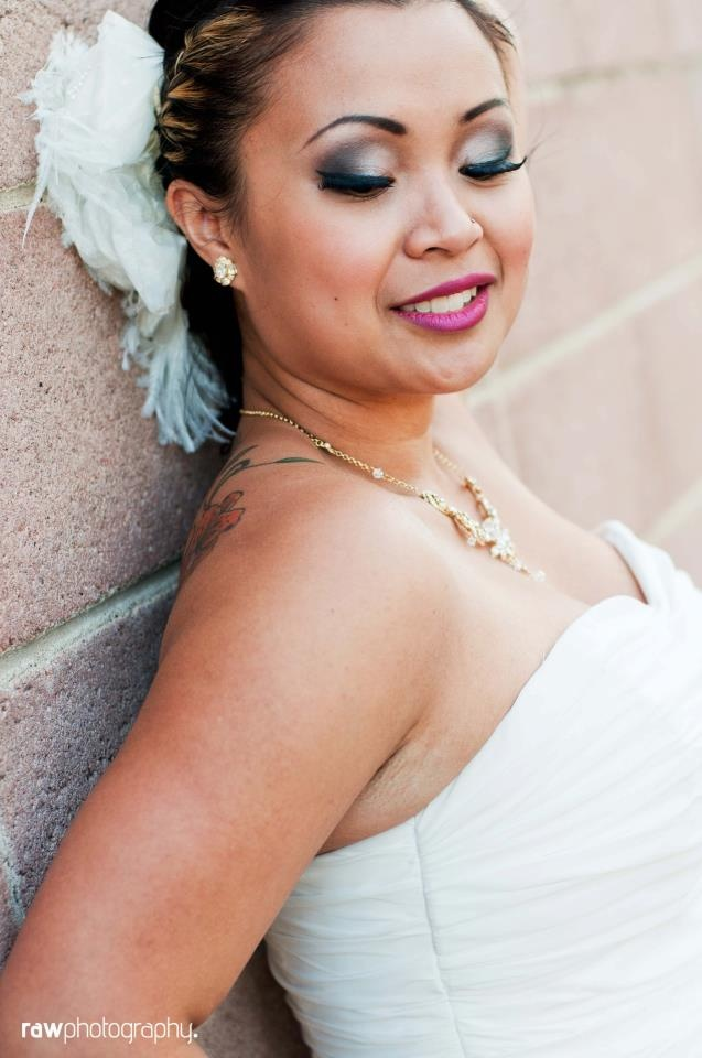 #smokey eye #bride #makeup #wedding  Photographer: Raw Photography  Makeup: Emily Satnik Makeup  www.emilysatnikmakeup.com