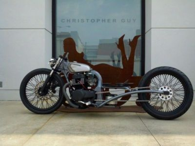 Custom Built Motorcycles : Bobber Bar Hopper Bobber W/ Honda Engine W/ Triumph Forks Chopper W/ Harley Wheels Bike | Cheap Motorcycles For Sale