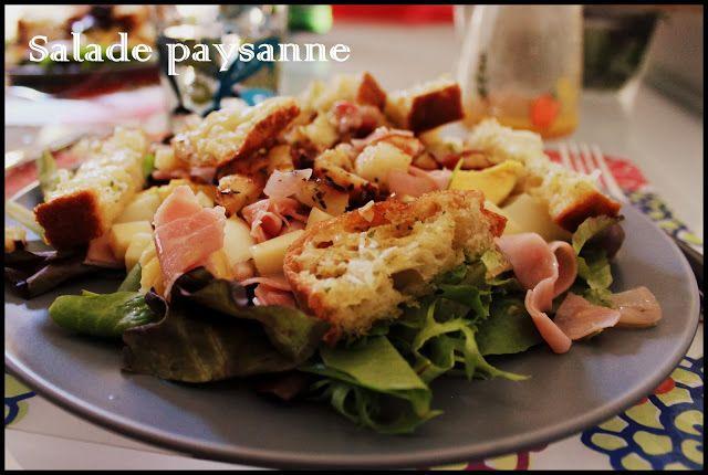 Cindylicious: Salade paysanne