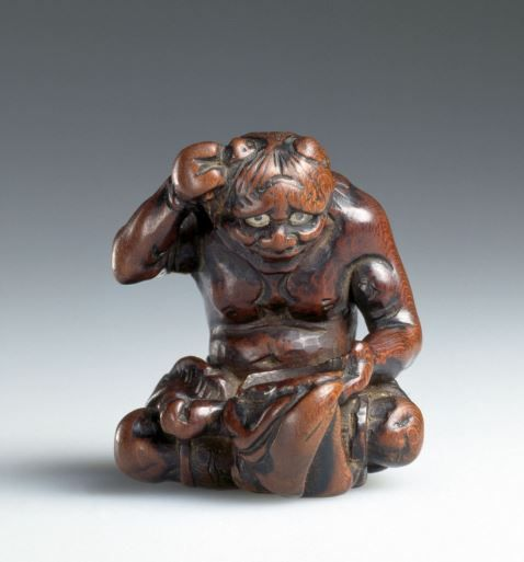 Best images about scary netsuke for halloween on