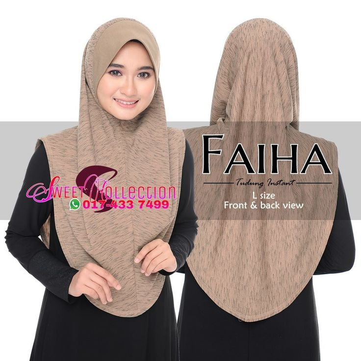 ~SWeetTCOLLeCTION~: TUDUNG FAIHA L RM47