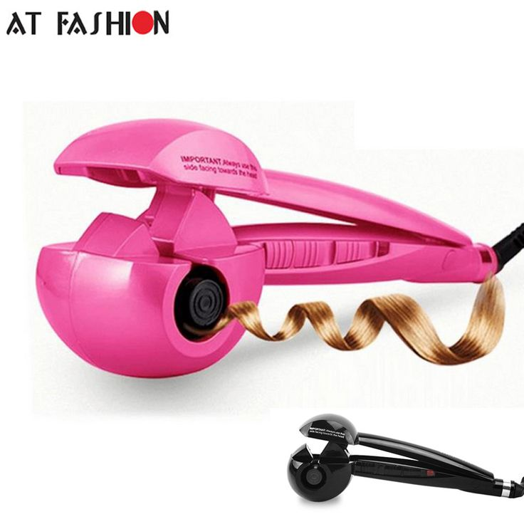 At Fashion 110-240V Steam Spray Automatic Hair Curlers Digital Curling Irons styling tools Professional Curling Tools EU US Plug #Affiliate