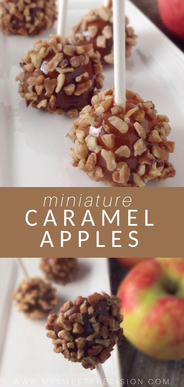 Karamelläpfel… im Mini-Style! Jetzt können Sie alles genießen, was Sie lieben ab …   – Food Bloggers Central SHARING Board