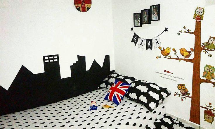Dekorasi dinding kamar anak laki laki cowok terpopuler for Dekorasi kamar