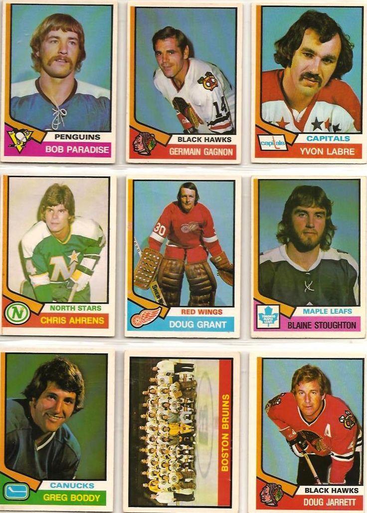 343-351 Bob Paradise, Germain Gagnon, Yvon Labre, Chris Ahrens, Doug Grant…