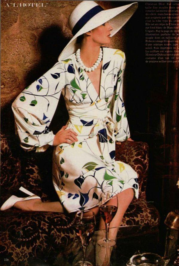 Christian Dior, 1973                                                                                                                                                      More