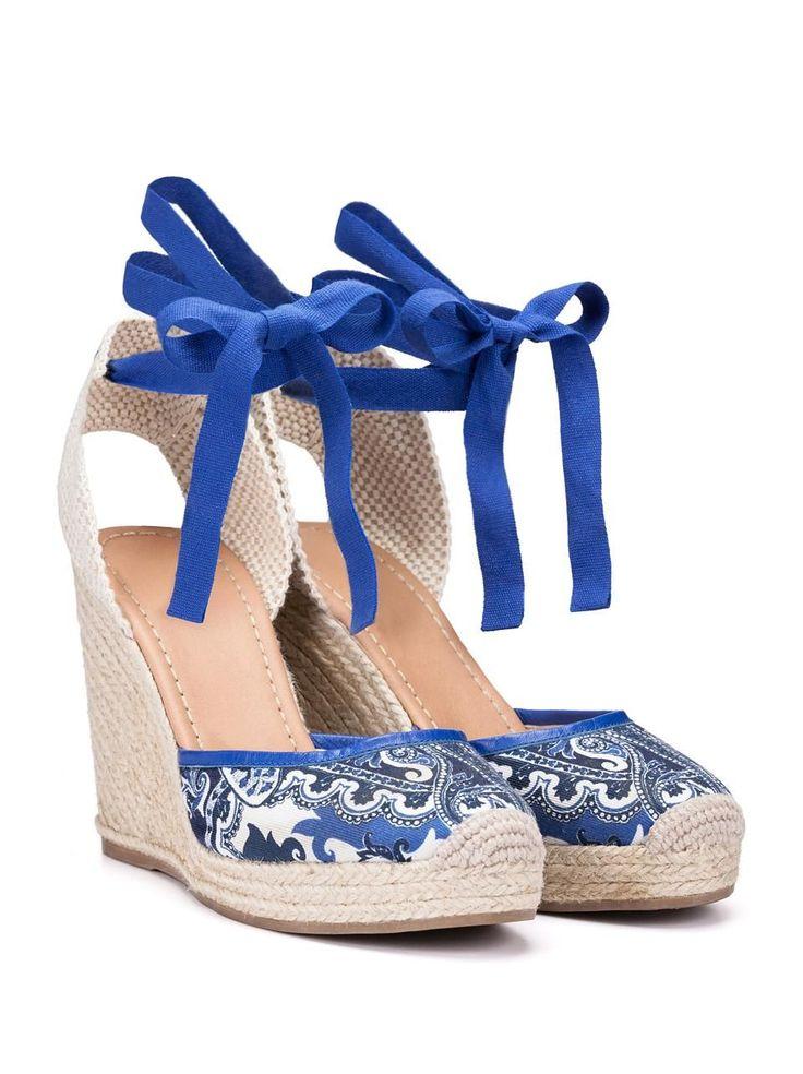 Shop online Etro's new-season women's espadrille shoes on the Official  Website. Paisley Shoes