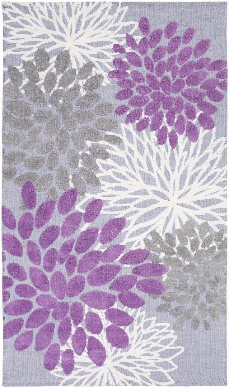 Black & Greys, Childrens, Ivory & Whites, Purples, Rugs - Surya Surya Abigail Kids Area Rug Purple   ABI9055-23   888473218500  $54.60. Buy it today at www.contemporaryfurniturewarehouse.com