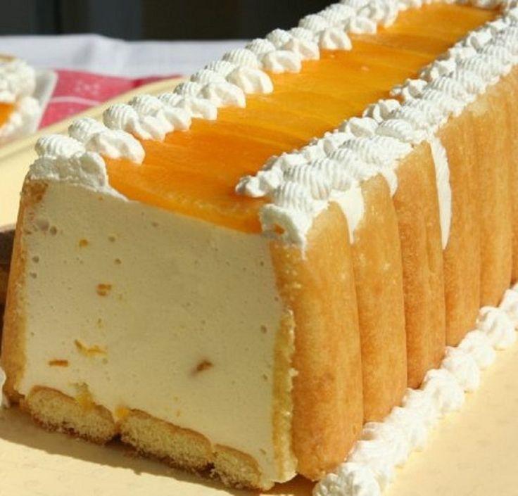 sütés nélküli barackos finomság recept