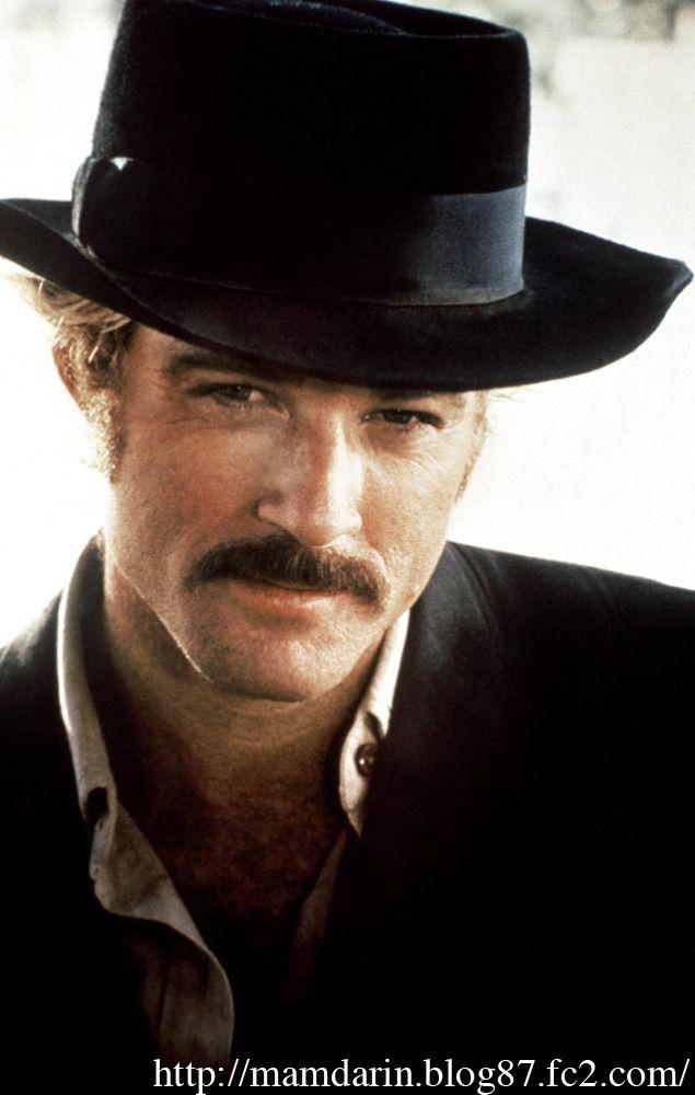 トレードマークはウエスタンハット。有名俳優ロバート・レッドフォード