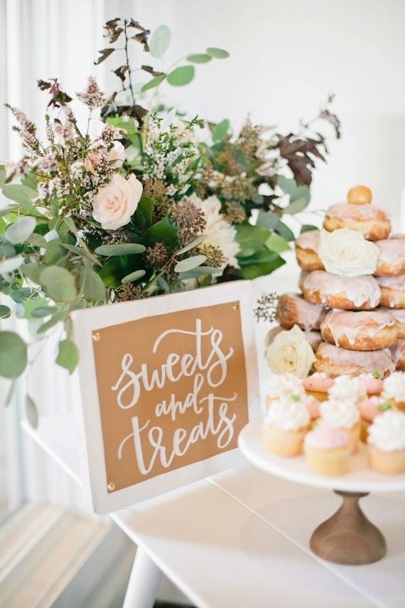 Blush and metallic baby shower | Girls baby shower | 100 Layer Cakelet
